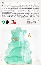 Handgemachte Naturseife Weihnachtsbaum mit Kiwiduft - LaQ Happy Soaps Natural Soap — Bild N2