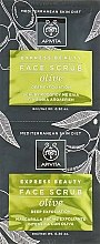 Düfte, Parfümerie und Kosmetik Erfrischendes und glättendes Gesichtspeeling mit Olive - Apivita Deep Exfoliating Face Scrub With Olive