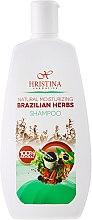 Düfte, Parfümerie und Kosmetik Natürliches feuchtigkeitsspendendes Shampoo Brasilianische Kräuter - Hristina Cosmetics Brazilian Herbs Shampoo