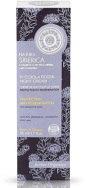 Regenerierende Nachtschutzcreme für empfindliche Haut - Natura Siberica — Bild N1