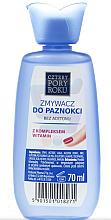 Düfte, Parfümerie und Kosmetik Nagellackentferner mit Vitaminen ohne Aceton - Pharma CF Cztery Pory Roku