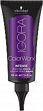 Düfte, Parfümerie und Kosmetik Intensive direktziehende Farbnuance für besonders extreme Farbergebnisse - Schwarzkopf Professional Igora ColorWorx Intense
