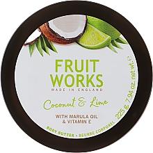 Körperbutter mit Kokosnuss und Limette - Grace Cole Fruit Works Body Butter Coconut & Lime — Bild N2