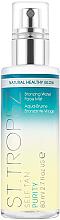 Düfte, Parfümerie und Kosmetik Erfrischendes und feuchtigkeitsspendendes Selbstbräunungsspray - St. Tropez Self Tan Purity Bronzing Water Face Mist