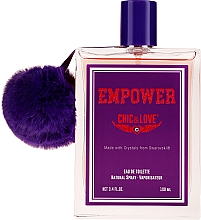 Chic&Love Empower - Duftset (Eau de Toilette 100ml + Kosmetiktasche) — Bild N2