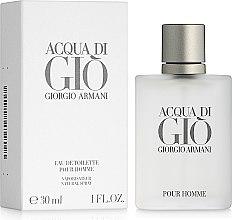 Düfte, Parfümerie und Kosmetik Giorgio Armani Acqua di Gio Pour Homme - Eau de Toilette