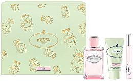 Düfte, Parfümerie und Kosmetik Prada Infusion De Rose 2017 - Duftset (Eau de Parfum 100ml + Handcreme 50ml + Eau de Parfum 10ml)
