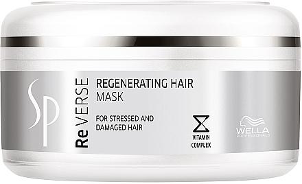 Regenerierende Haarmaske mit Vitaminkomplex für gestresstes und geschädigtes Haar - Wella SP Reverse Regenerating Hair Mask — Bild N1