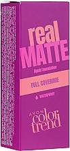 Düfte, Parfümerie und Kosmetik Mattierende flüssige Foundation - Avon Real Matte Color Trend