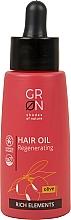 Düfte, Parfümerie und Kosmetik Regenerierendes Haaröl mit Olive - GRN Rich Elements Olive Hair Oil