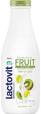 Duschgel Kiwi und Weintraube - Lactovit Fruit Shower Gel — Bild N1