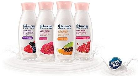 Glättende Körperlotion mit Papayaextrakt - Johnson's Body Care Vita-Rich Lotion — Bild N2