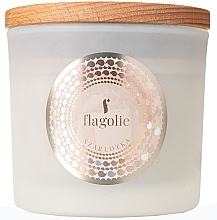 Düfte, Parfümerie und Kosmetik Duftkerze im Glas Apple Pie - Flagolie Fragranced Candle Apple Pie