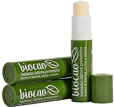 Düfte, Parfümerie und Kosmetik Lippen-Schutzbalsam für rissige Lippen - La Saponaria Lip balm Shea and Mint