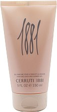 Düfte, Parfümerie und Kosmetik Cerruti 1881 Pour Femme - Duschgel