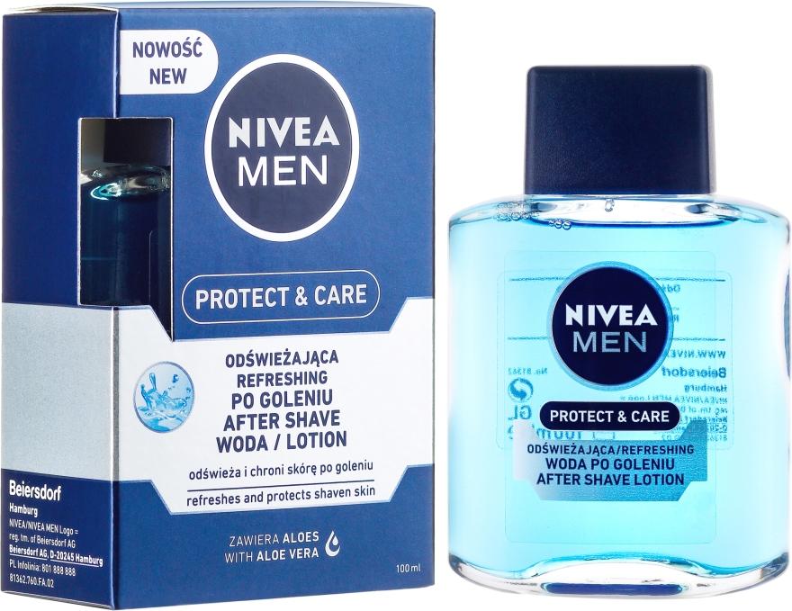 After Shave Feuchtigkeitslotion für empfindliche Haut - Nivea For Men After Shave Lotion