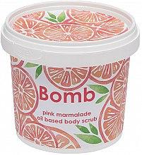 Düfte, Parfümerie und Kosmetik Körperpeeling mit pink Marmelade - Bomb Cosmetics Pink Marmalade Body Scrub