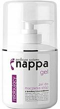 Düfte, Parfümerie und Kosmetik Entspannendes Fußgel mit Lanolin und Harnstoff - Silcare Nappa 500 Foot Soak Gel