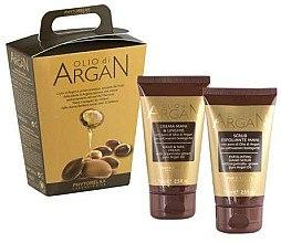 Düfte, Parfümerie und Kosmetik Handpflegeset - Phytorelax Laboratories Olio di Argan (Hand- und Nagelcreme 75ml + Handpeeling 75ml)