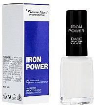 Düfte, Parfümerie und Kosmetik Strärkender Nagelunterlack - Pierre Rene Iron Power Base Coat