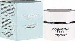 Düfte, Parfümerie und Kosmetik Regenerierende Nachtcreme - Collagena Code Cells Recovery Night Cream