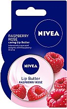 "Düfte, Parfümerie und Kosmetik Bio-Lippenbalsam ""Himbeere"" - Nivea Lip Care Lip Butter"
