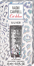 Düfte, Parfümerie und Kosmetik Naomi Campbell Cat Deluxe Silver - Eau de Toilette (Mini)