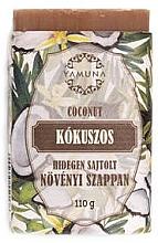 Düfte, Parfümerie und Kosmetik Kaltgepresste Seife Kokosnuss - Yamuna Coconut Cold Pressed Soap