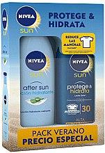 Düfte, Parfümerie und Kosmetik Körperpflegeset - Nivea Sun Protege & Hidrata (After Sun Lotion + Sonnnenschutzlotion)
