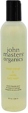 Duschgel - John Masters Organics Blood Orange & Vanilla Body Wash — Bild N1