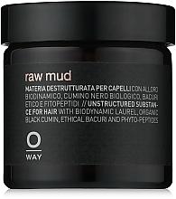 Düfte, Parfümerie und Kosmetik Modellierende kosmetische Tonerde für das Haar Extra starker Halt - Oway Man Raw Mud