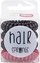 Düfte, Parfümerie und Kosmetik Haargummis braun, rot 4 St. - Hair Springs