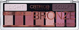 Düfte, Parfümerie und Kosmetik Lidschatten-Palette - Catrice The Blazing Bronze Collection Eyeshadow Palette