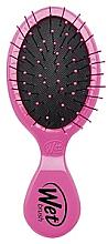 Düfte, Parfümerie und Kosmetik Kompakte Haarbürste rosa - Wet Brush Mini Squirt Classic