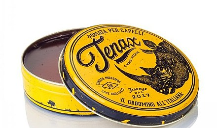 Haarstyling Pomade - Tenax Hair Pomade Strong — Bild N2