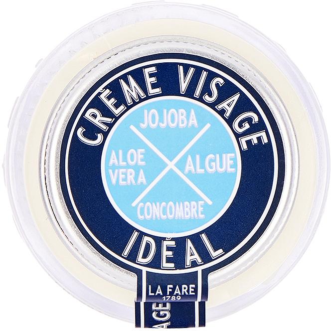 Feuchtigkeitsspendende und verjüngende Gesichtscreme mit Aloe Vera, Jojoba, grünem Tee, Zedernholz und Gurke - La Fare 1789 Ideal Face Cream — Bild N1