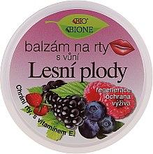 Düfte, Parfümerie und Kosmetik Lippenbalsam mit Waldfruchtgeschmack - Bione Cosmetics Lip Balm Forest Fruit