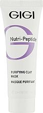 Düfte, Parfümerie und Kosmetik Reinigende und mattierende Tonmaske für das Gesicht - Gigi Nutri-Peptide Purifying Clay Mask