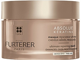 Düfte, Parfümerie und Kosmetik Regenerierende Maske für dickes Haar mit Keratin - Rene Furterer Absolue Keratine Thick Hair Mask