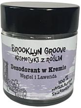 Düfte, Parfümerie und Kosmetik Natürliche Deo-Creme Lavendel & Zitronengras  - Brooklyn Groove Deodorant Cream