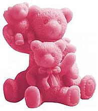 Düfte, Parfümerie und Kosmetik Handgemachte Glycerinseife Teddybären mit Kirschduft - LaQ Happy Soaps Natural Soap