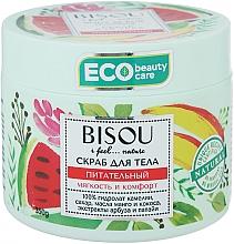 Düfte, Parfümerie und Kosmetik Pflegendes Körperpeeling mit Wassermelonen- und Papain-Extrakt und Mango- und Kokosöl - Bisou I feel... Nature Nourishing Body Scrub