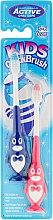 Düfte, Parfümerie und Kosmetik Kinderzahnbürste 3-6 Jahre Pinguin blau, rosa 2 St. - Beauty Formulas Kids Quick Brush