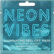 Düfte, Parfümerie und Kosmetik Reinigende Peel-Off-Maske für müde und stumpfe Haut mit blauer Agave - Marion Neon Vibes Illuminating Peel-Off Mask
