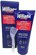Düfte, Parfümerie und Kosmetik Feuchtigkeitsspendende Enthaarungscreme für Männer - Williams Crema Depilatoria Moisturizing