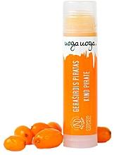 Düfte, Parfümerie und Kosmetik Lippenbalsam mit Bienenwachs und Sanddorn - Uoga Uoga Lip Balm Kind Pirate
