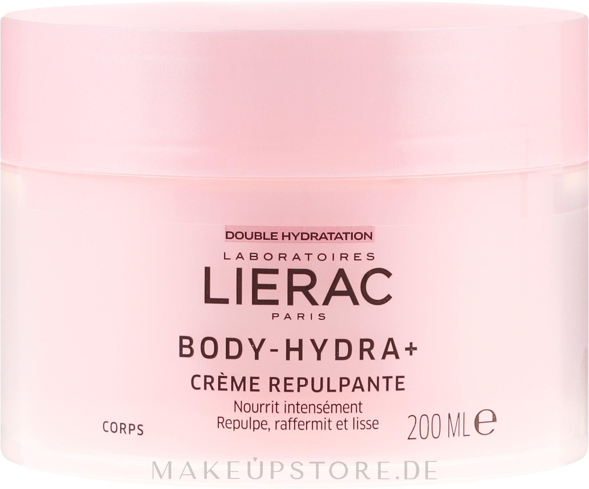 Pflegende Körpercreme - Lierac Body-Hydra+ — Bild 200 ml