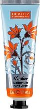 Düfte, Parfümerie und Kosmetik Feuchtigkeitsspendende Handcreme mit Bernsteinduft - Beauty Formulas Amber Moisturising Hand Cream