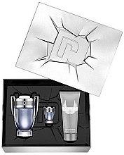 Düfte, Parfümerie und Kosmetik Paco Rabanne Invictus - Kosmetikset (Eau de Toilette/100ml + Mini/5ml + Shampoo/100ml)