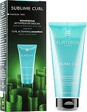 Düfte, Parfümerie und Kosmetik Shampoo für lockiges und gewelltes Haar - Rene Furterer Sublime Curl Activating Shampoo